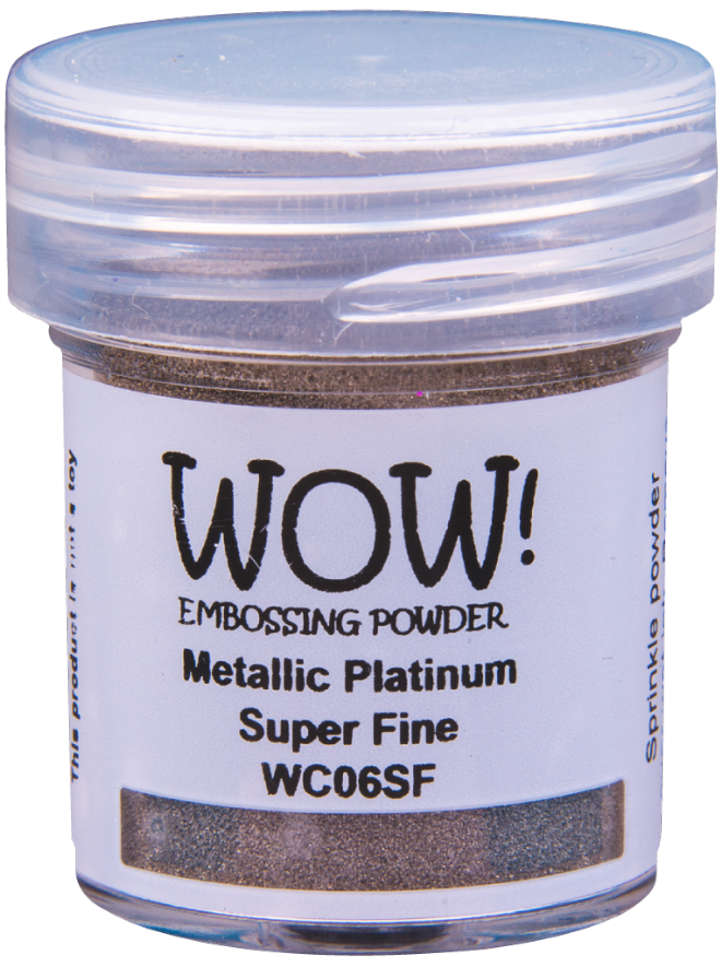 WC06 Metallic Platinum (Large Jar)